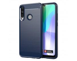 Husa Spate Upzz Carbon Huawei Y6p -Albastru ,antishock