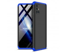 Husa 360 Grade Upzz Protection Samsung Galaxy A51 ,negru-albastru