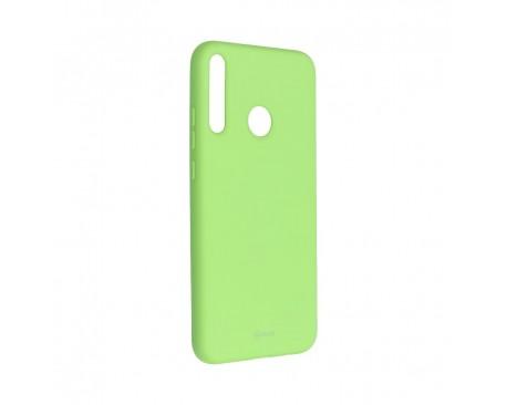 Husa Spate Silicon Roar Jelly Compatibila Cu Huawei P40 Lite E , Verde Lime