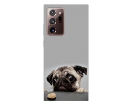 Husa Silicon Soft Upzz Print Samsung Galaxy Note 20 Ultra Model Dog