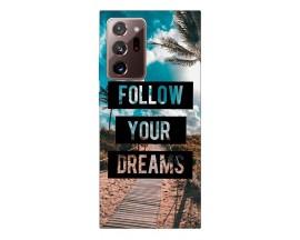 Husa Silicon Soft Upzz Print Samsung Galaxy Note 20 Ultra Model Dreams