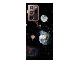 Husa Silicon Soft Upzz Print Samsung Galaxy Note 20 Ultra Model Earth