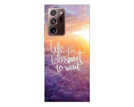 Husa Silicon Soft Upzz Print Samsung Galaxy Note 20 Ultra Model Life