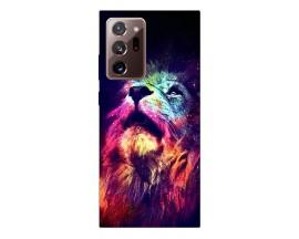 Husa Silicon Soft Upzz Print Samsung Galaxy Note 20 Ultra Model Neon Lion