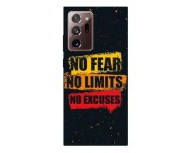 Husa Silicon Soft Upzz Print Samsung Galaxy Note 20 Ultra Model No Fear