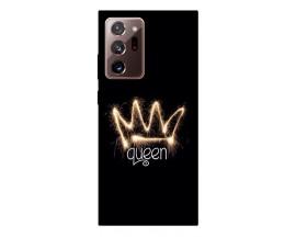 Husa Silicon Soft Upzz Print Samsung Galaxy Note 20 Ultra Model Queen