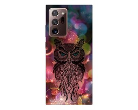 Husa Silicon Soft Upzz Print Samsung Galaxy Note 20 Ultra Model Sparkle Owl