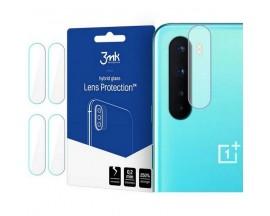 Folie Sticla Nano Glass 3mk Pentru Camera Pentru OnePlus Nord, Transparenta, 4 Buc In Pachet