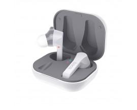 Casti Audio Wireless Hoco Es34 Pleasure Tws ,carcasa Cu Funtie De Incarcare , Albe