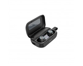 Casti Audio Wireless Hoco Es37 Treasure Tws ,carcasa Cu Funtie De Incarcare ,negru