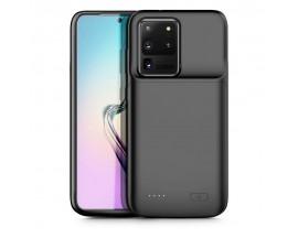 Husa Cu Baterie Externa Pentru Samsung S20 Ultra 5000 Mah Negru
