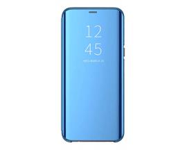 Husa Flip Cover Upzz Mirror Compatibila Cu Samsung Galaxy Note 20  Albastru