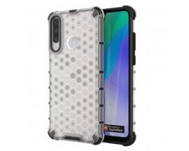 Husa Uppz Honeycomb Huawei Y6p AntiShock -Transparenta