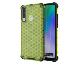 Husa Uppz Honeycomb Huawei Y6p AntiShock -Verde
