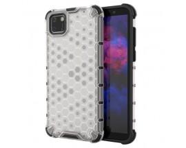 Husa Uppz Honeycomb Huawei Y5p AntiShock -Transparent