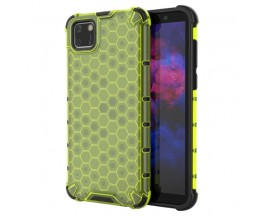 Husa Uppz Honeycomb Huawei Y5p AntiShock -Verde