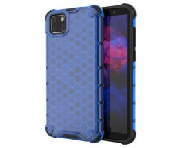 Husa Uppz Honeycomb Huawei Y5p AntiShock -Albastru