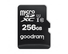 Card Microsd Goodram All In One 256gb Uhs-i ,clasa 10 ,adaptor Sd ,cititor Microsd Otg