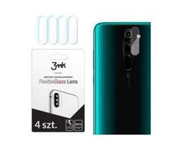 Set 4 Buc  Folie Sticla Nano Glass Pentru Camera 3mk Xiaomi Redmi 8 Pro  Transparenta