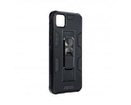 Husa Premium Upzz Defender Antishock Compatibila Cu Huawei Y5p ,Negru -Stand Magnetic Pe spate