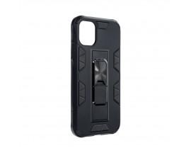 Husa Premium Upzz Defender Antishock Compatibila Cu Iphone 11 Pro ,Negru -Stand Magnetic Pe spate
