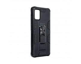 Husa Premium Upzz Defender Antishock Compatibila Cu Samsung Galaxy A51 ,Negru -Stand Magnetic Pe spate