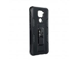 Husa Premium Upzz Defender Antishock Compatibila Cu Xiaomi Redmi Note 9 ,Negru -Stand Magnetic Pe spate
