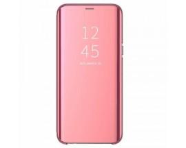 Husa Flip Cover Upzz Mirror Compatibila Cu Samsung Galaxy Note 20 Ultra Roz