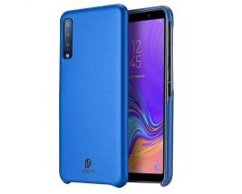 Husa Spate Originala Duxducis Skin Lite Samsung Galaxy A7 2018  Piele Albastru