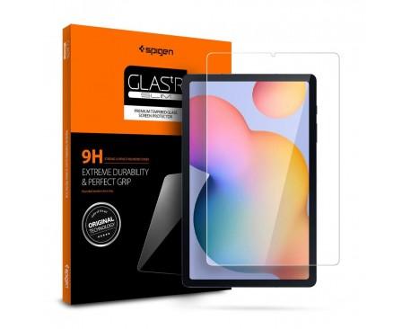 Folie Premium Originala Spigen Glass Tr Slim Compatibil Cu Samsung Galaxy Tab S6 Lite 10.4inch model P610/0615
