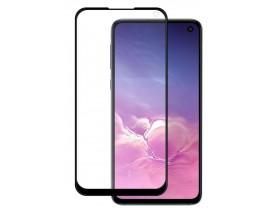 Folie Sticla Nano Glass Full Glue Flex Upzz Samsung Galaxy Note 10 Lite Negru Ultra Rezistenta