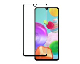 Folie Sticla Nano Glass Full Glue Flex Upzz Samsung Galaxy A41 Negru Ultra Rezistenta