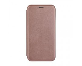 Husa Flip Carte Cu Magnet Lux Upzz Samsung Galaxy Note 20  ,rose  Gold