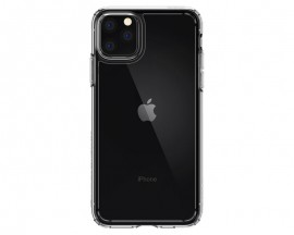 Husa Premium Spigen Crystal Hybrid iPhone 12 Anti-shock ,transparenta