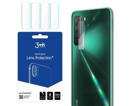 Folie Sticla Nano Glass 3mk Pentru Camera Huawei P40 Lite 5G Transparenta, 4 Buc In Pachet