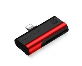Cititor Carduri Usams Compatibil cu Device-uri Cu Mufa Lightning -Negru Rosu SJ430DKQ02