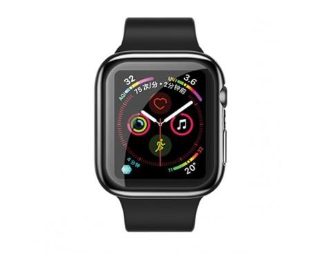 Carcasa Usams Silicon  ,compatibila Cu Apple Watch 4/5 (40mm), Negru -IW485BH01