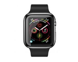 Carcasa Usams Silicon ,compatibila Cu Apple Watch 4/5 (44mm), Negru -IW486BH01