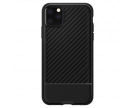 Husa Premium Originala Spigen Core Armor iPhone 12 Negru Silicon