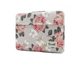 Husa Upzz Tech Canvaslife Sleeve Compatibila Cu Laptop / Macbook 13-14 Inch Roz