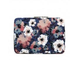 Husa Upzz Tech Briefcase  Canvaslife Sleeve Compatibila Cu Laptop / Macbook 15-16 Inch Camellia