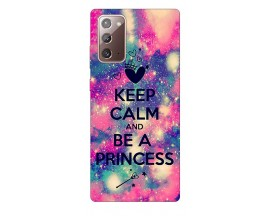 Husa Silicon Soft Upzz Print Samsung Galaxy Note 20 Model Be Princess