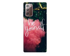 Husa Silicon Soft Upzz Print Samsung Galaxy Note 20 Model Be Yourself