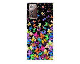 Husa Silicon Soft Upzz Print Samsung Galaxy Note 20 Model Colorature