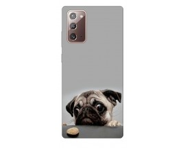 Husa Silicon Soft Upzz Print Samsung Galaxy Note 20 Model Dog