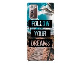 Husa Silicon Soft Upzz Print Samsung Galaxy Note 20 Model Dream