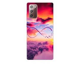 Husa Silicon Soft Upzz Print Samsung Galaxy Note 20 Model Infinity