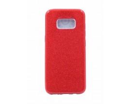 Husa Spate Upzz Shiny Lux Samsung S8 Plus Rosu