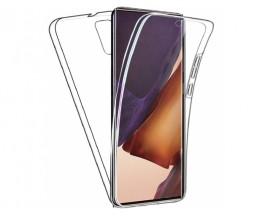 Husa 360 Grade Full Cover Upzz Tpu Si Silicon Compatibila Cu Samsung Galaxy Note 20 ,Full Transparenta