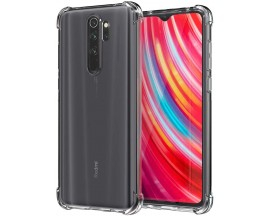 Husa Premium Upzz Roar Anti-shock Tpu Silicon Crystal Clear Xiaomi Redmi Note 8 Pro ,Tehnologie Air Cushion
